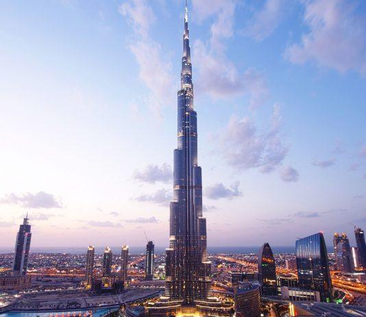 Burj Khalifa Night Scape