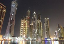 Dubai Property Nightscape